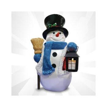 Tophat Snowman Porch decoration