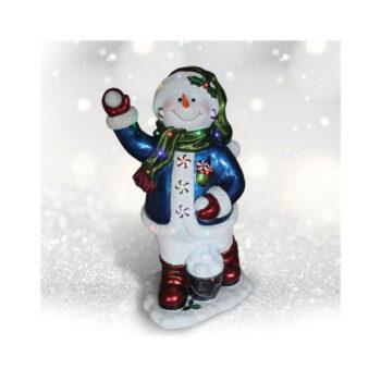 Snowball Snowman Porch decoration