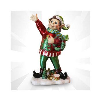Festive Christmas Sweater Elf Porch decoration