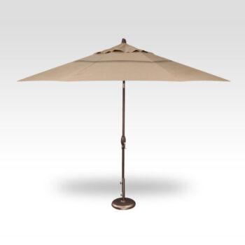 Treasure Garden  Auto Tilt 11-foot Aluminum Market Umbrella