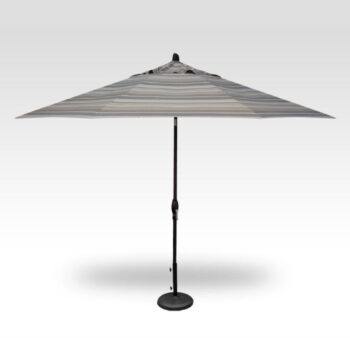 Treasure Garden  Auto Tilt 11 -foot Aluminum Market Umbrella