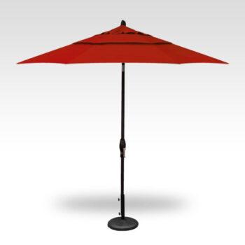 Treasure Garden Auto Tilt 9-foot Aluminum Market Umbrella