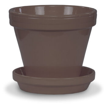 Round Ceramic Pot