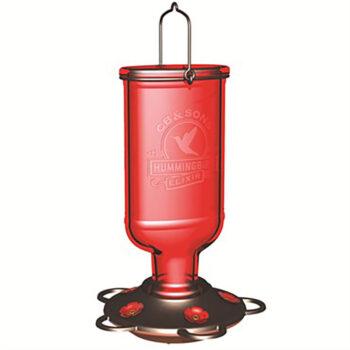 Elixir Glass Hummingbird Feeder