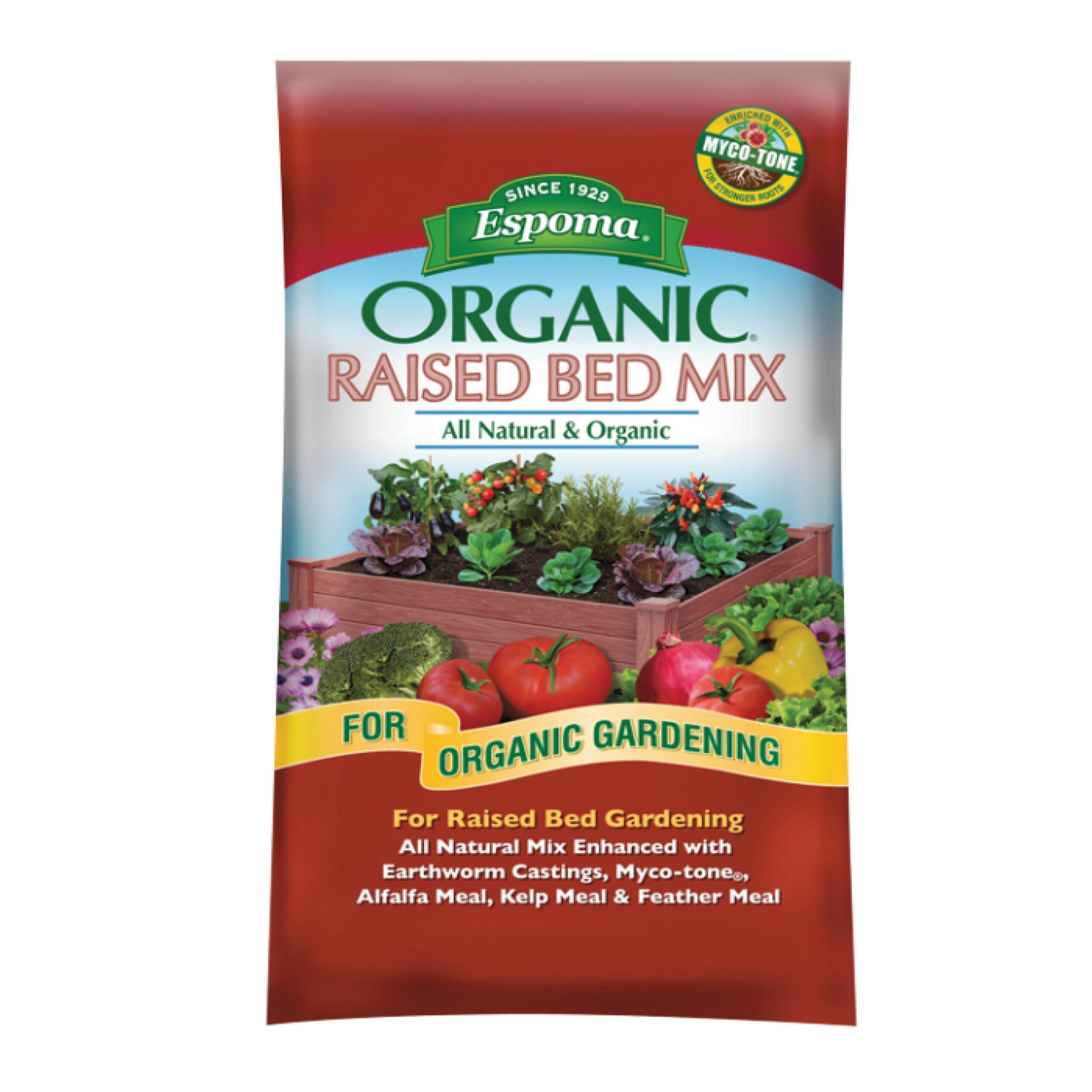 Espoma Organic Raised Bed Mix 104503 1 scaled - English Gardens Orchard Lake Road West Bloomfield Township Mi
