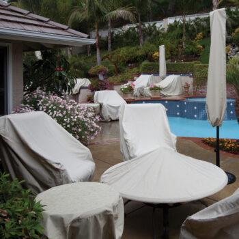 Treasure Garden Protective Furniture Cover for 9 to 11-foot Umbrella