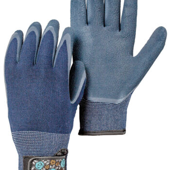 Hestra Job Garden Bamboo Glove in Indigo