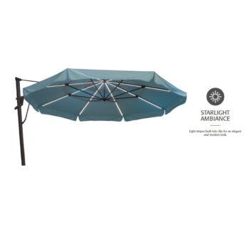 Treasure Garden Starlux AKZP 13 Plus 13-foot Cantilever Umbrella
