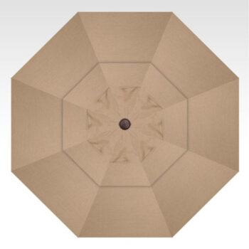 Treasure Garden Starlux Collar Tilt 9-foot Umbrella